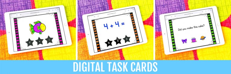 fluency and fitness digital task cards 2