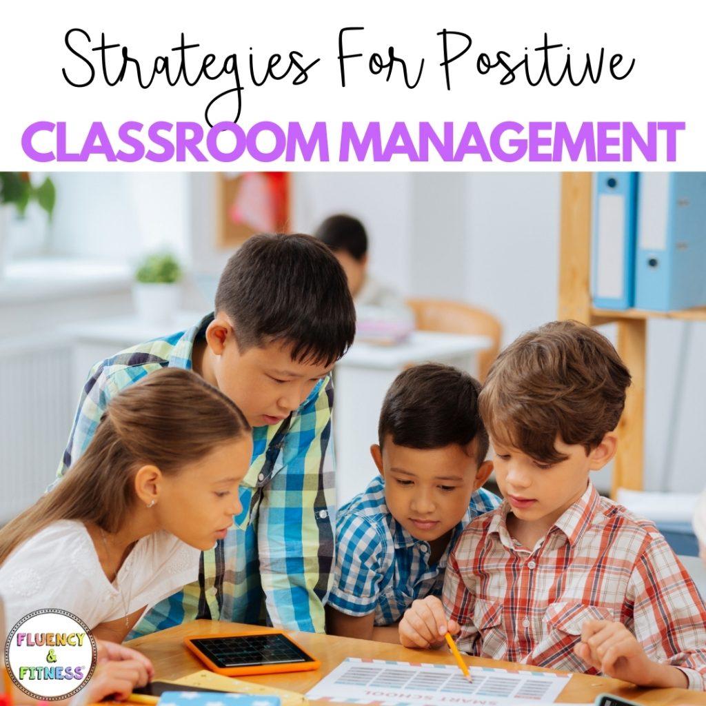 strategies for classroom management children working in classroom