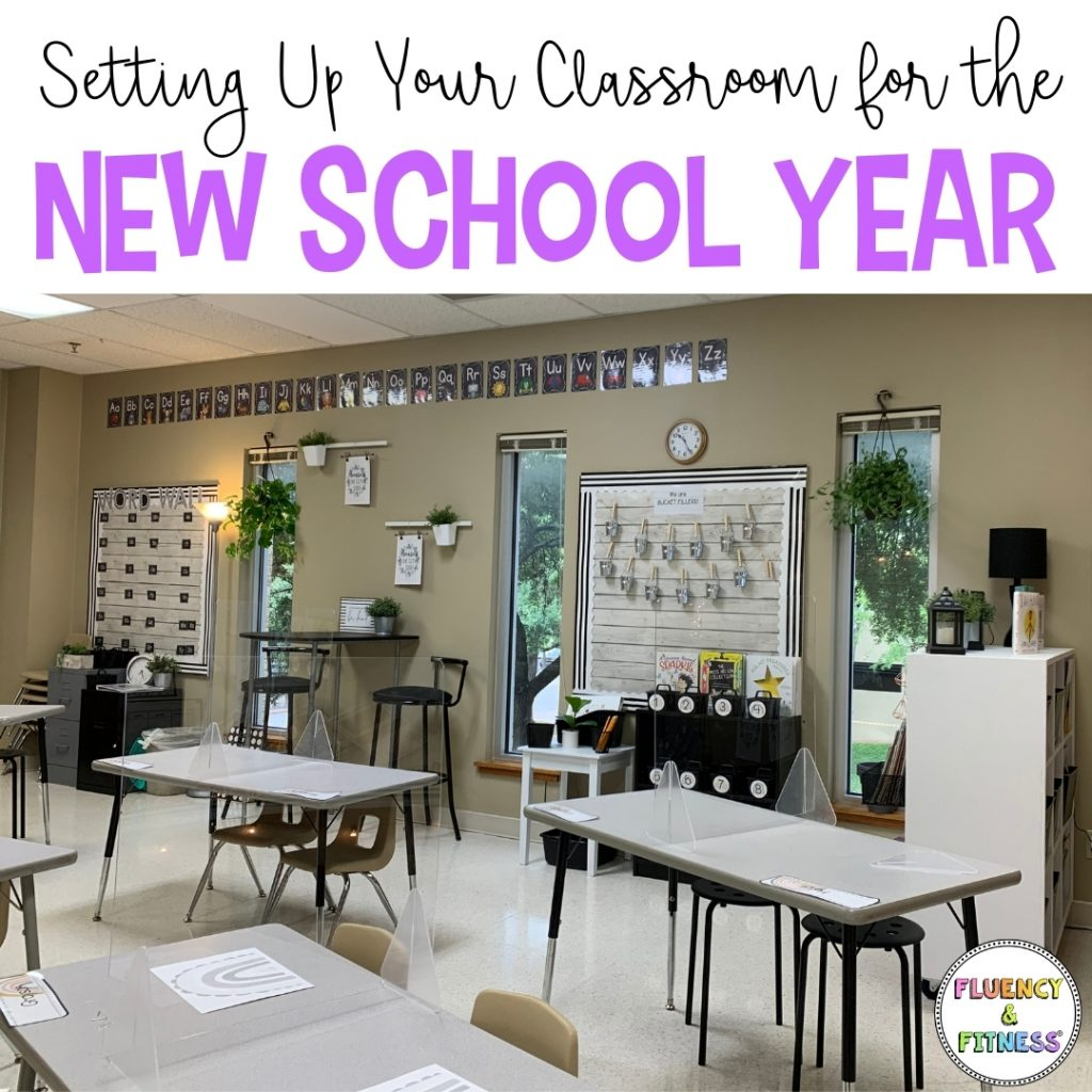 setting up your classroom for the new school year.