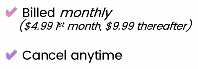 monthly description