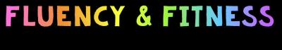 fluency and fitness logo rainbow 2
