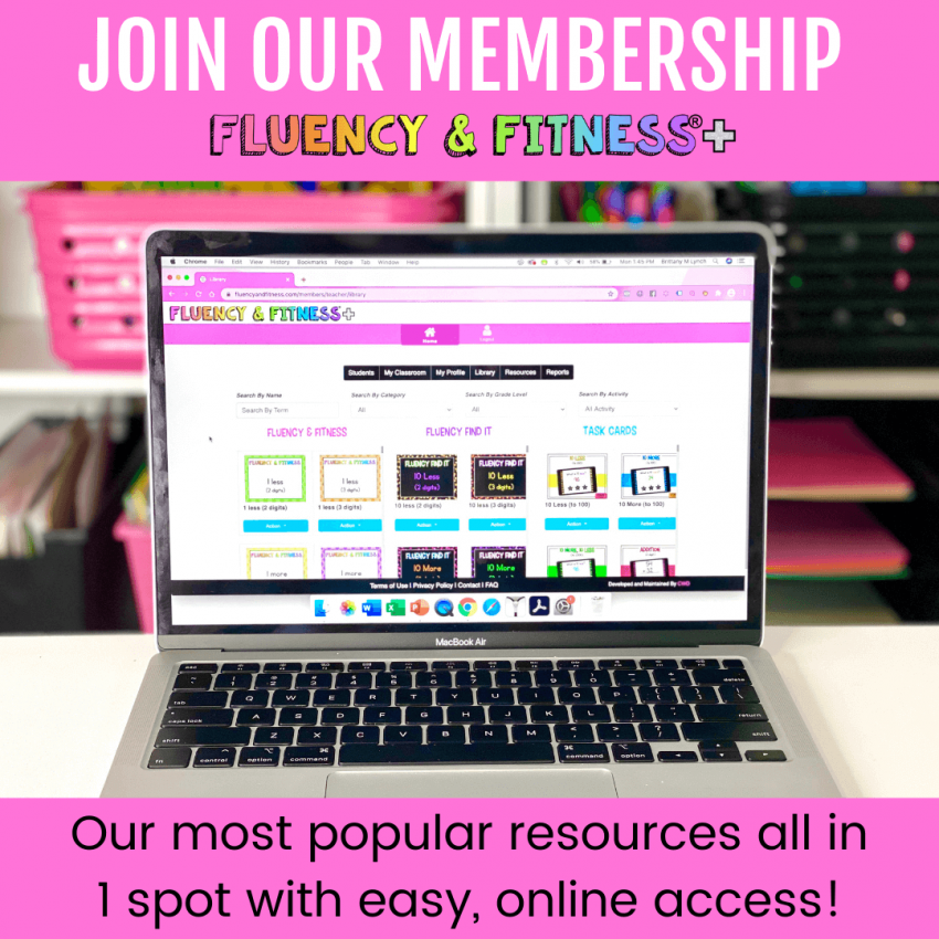 join the fluency and fitness+ membership